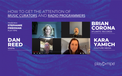 How to Get the Attention of Music Curators and Radio Programmers – OUT NOW!