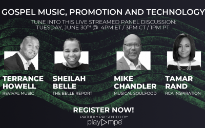 Gospel Music, Promotion and Technology
