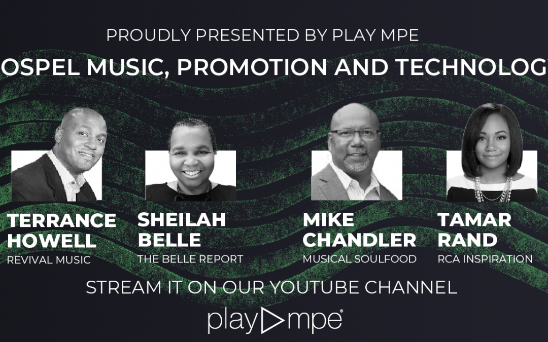 Watch our latest panel: Gospel Music, Promotion and Technology
